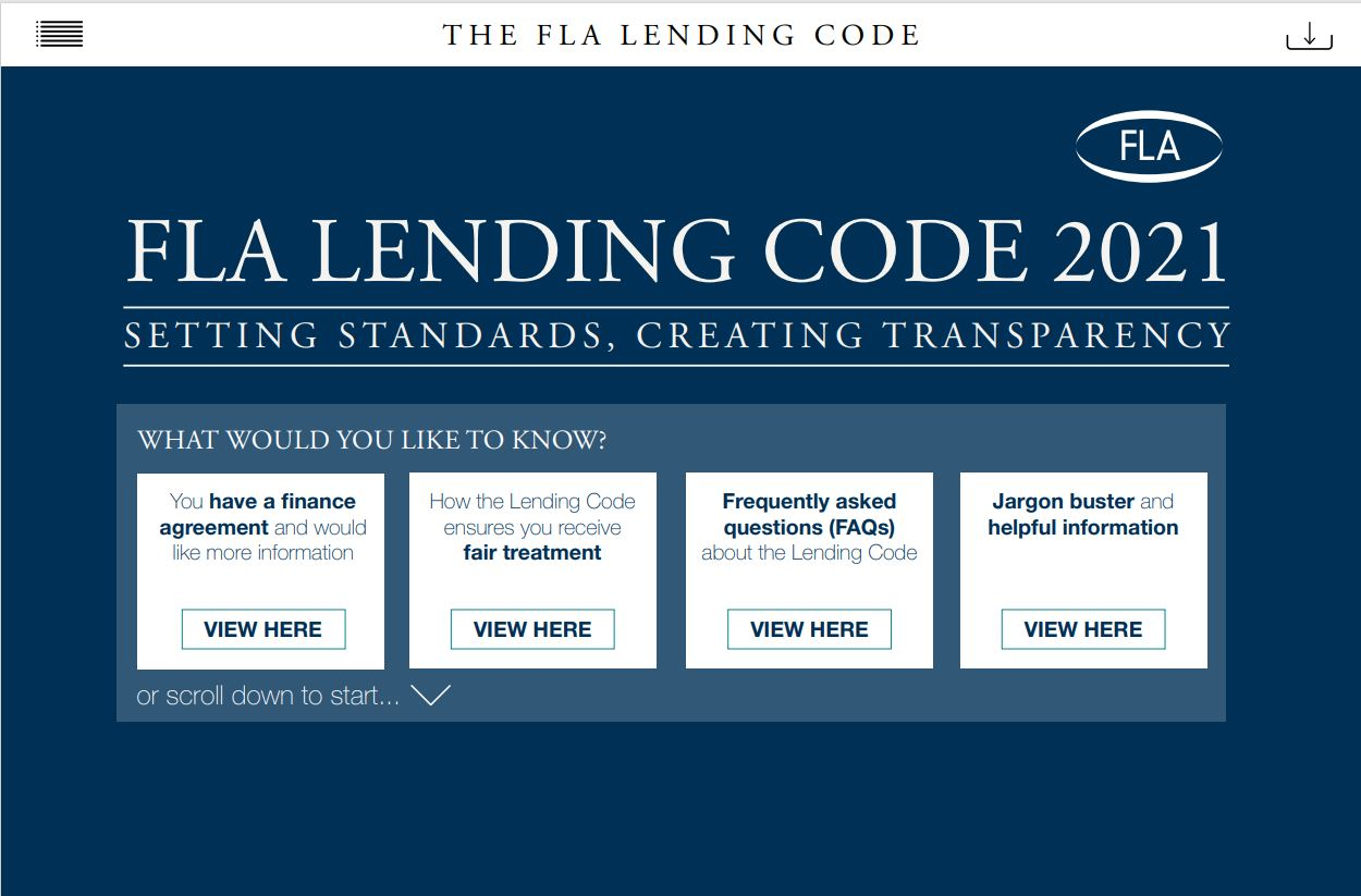 lending code 2021 front cover